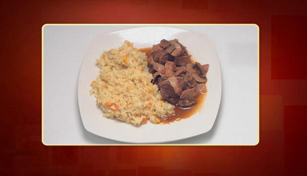 Μοσχαράκι με μανιτάρια και μπέικον της Λίτσας - Κυρίως πιάτο - Επεισόδιο 48