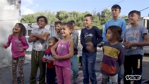 """VICE SPECIALS - «Τα """"Αόρατα"""" Παιδιά της Μυτιλήνης»"""