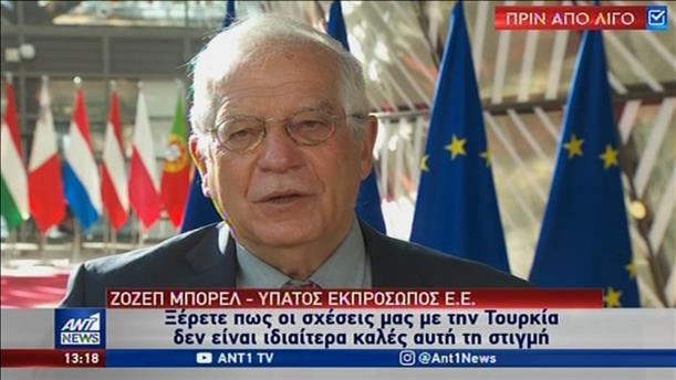Κατάλογο κυρώσεων για την Τουρκία ζητεί η Αθήνα