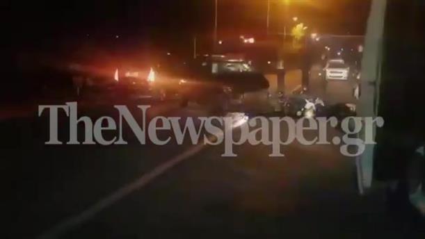 Νεκρός οδηγός μηχανής σε τροχαίο στον Βόλο