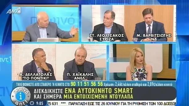 Πρωινό ΑΝΤ1 – Εκπομπή - 28/05/2015