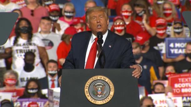 Εκλογές - ΗΠΑ: Ο Τραμπ «ζωγραφίζει» την εικόνα των ΗΠΑ υπό τον Μπάιντεν