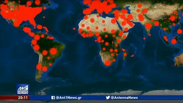 Ξεπέρασαν τα 18 εκατομμύρια τα κρούσματα παγκοσμίως