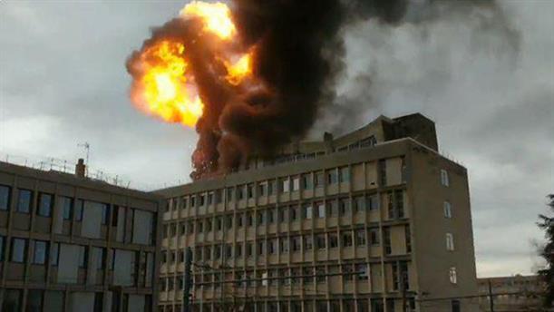 Ισχυρή έκρηξη σε Πανεπιστήμιο της Λυών