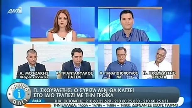 Πρωινό ΑΝΤ1 – Ενημέρωση - 04/09/2014