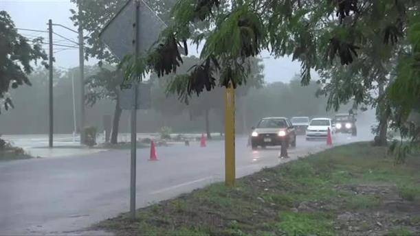 Στο Μεξικό η τροπική καταιγίδα