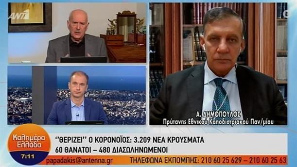 Αθανάσιος Δημόπουλος – ΚΑΛΗΜΕΡΑ ΕΛΛΑΔΑ – 19/11/2020
