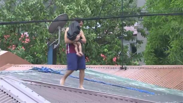 Φονικός τυφώνας στις Φιλιππίνες