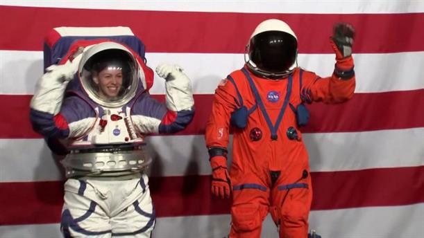 Νέες διαστημικές στολές από τη NASA