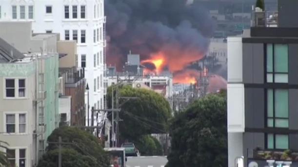 Φωτιά σε κτίρια στο Σαν Φρανσίσκο