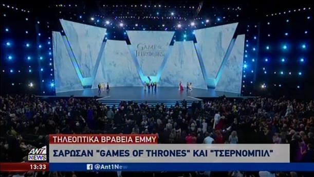 """Σάρωσε τα βραβεία Emmy η σειρά """"Game of Thrones"""""""