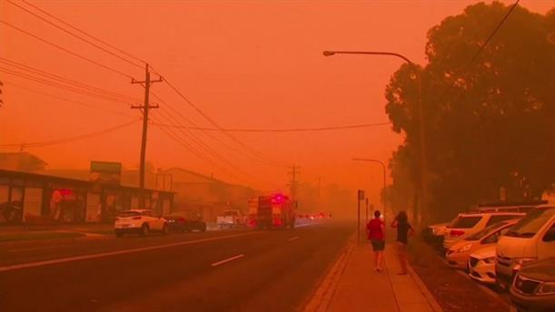 Φόβοι για νεκρούς στη φωτιά στην Αυστραλία