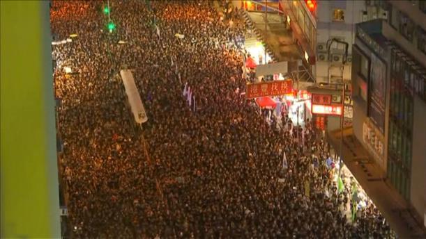 Κινητοποιήσεις στο Χονγκ Κόνγκ