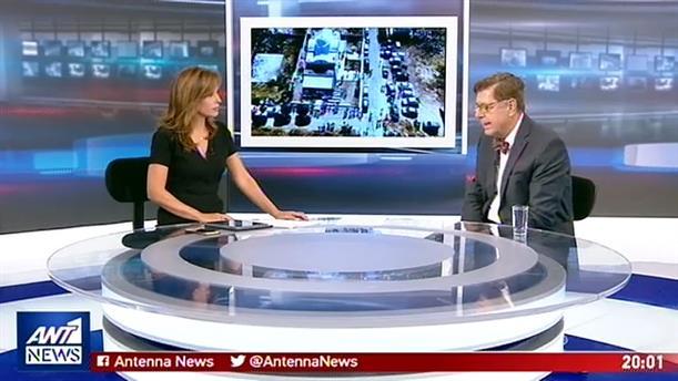 """O Κώστας Συνολάκης στον ΑΝΤ1 για την τραγωδία στο Μάτι, το """"112"""" και τον """"ισχυρό σεισμό"""""""