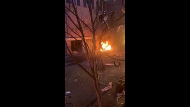 Iσχυρή έκρηξη στο Νάσβιλ