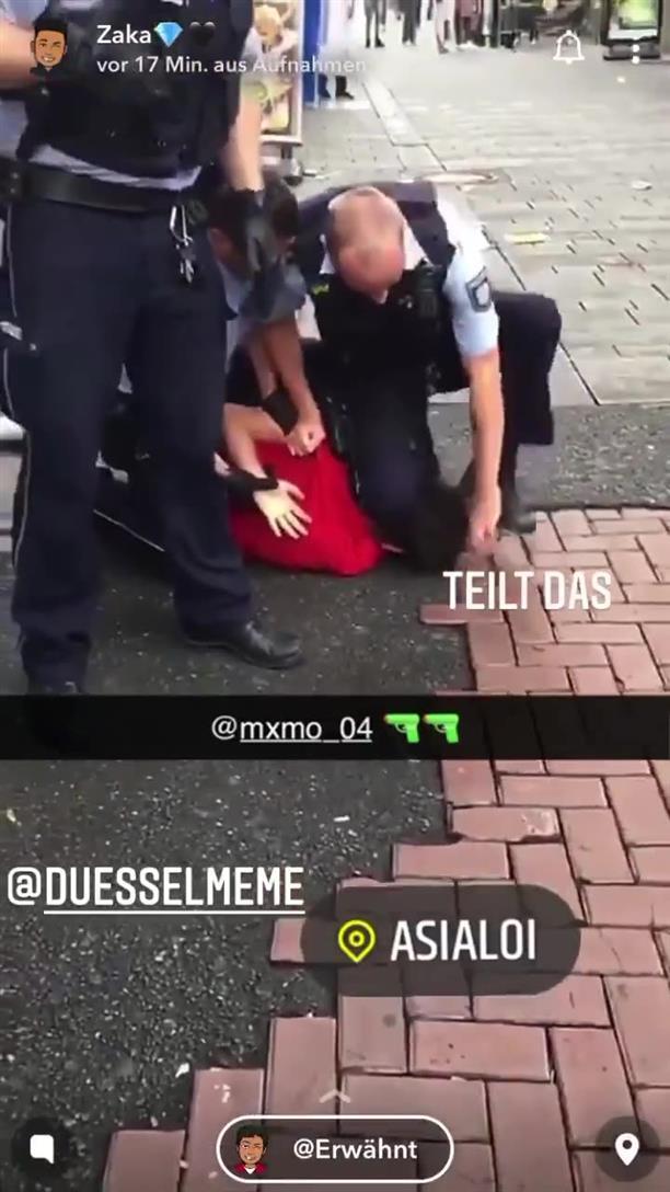 Αστυνομική βία κατά ανηλίκου στη Γερμανία