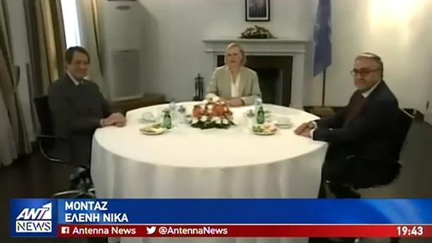 Τετ α τετ Αναστασιάδη-Ακιντζί για επανέναρξη του διαλόγου για το Κυπριακό