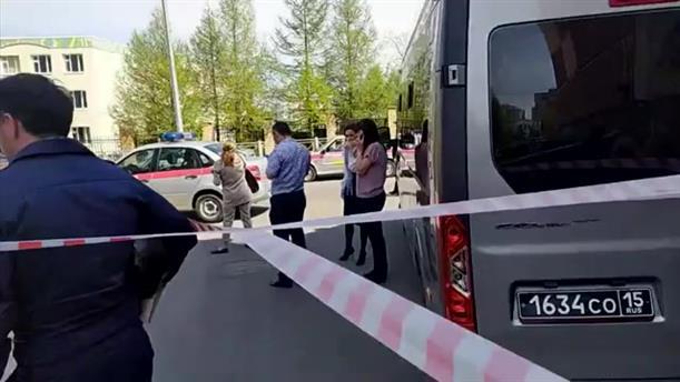 Ρωσία: Φονική επίθεση σε σχολείο