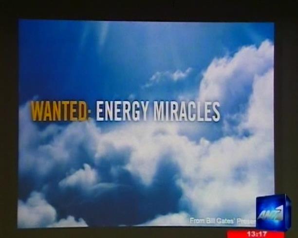 Επανάσταση στον τομέα της ενέργειας