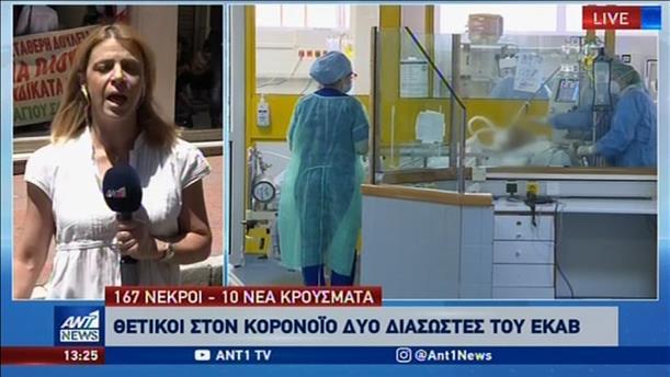 Η πορεία της πανδημίας στην Ελλάδα