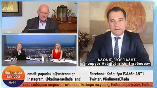 Άδωνις Γεωργιάδης - Υπουργός Ανάπτυξης και Επενδύσεων - ΚΑΛΗΜΕΡΑ ΕΛΛΑΔΑ – 17/11/2020