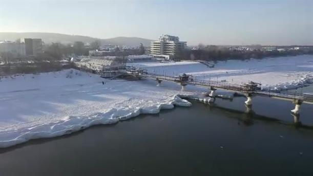 «Τσουνάμι πάγου» στη Βαλτική