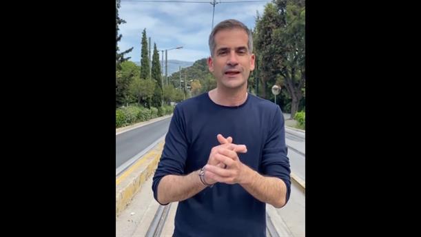"""Ο Κώστας Μπακογιάννης για τη δημιουργία του """"Μεγάλου Περίπατου"""" της Αθήνας"""