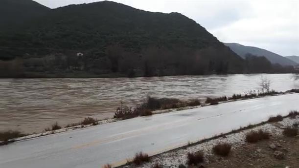 Ανέβηκε η στάθμη του ποταμού Στρυμόνα