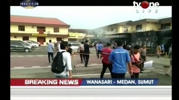 Έκρηξη βόμβας στο αρχηγείο της αστυνομίας στην Ινδονησία