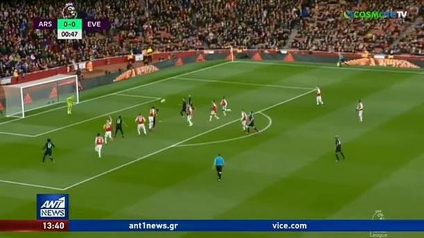 Γκολ από τα παιχνίδια της Άρσεναλ και της Μ.Γιουνάιτεντ στην Premier League