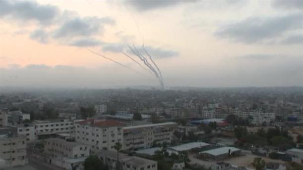 Νέα εκτόξευση πυραύλων στη Λωρίδα της Γάζας