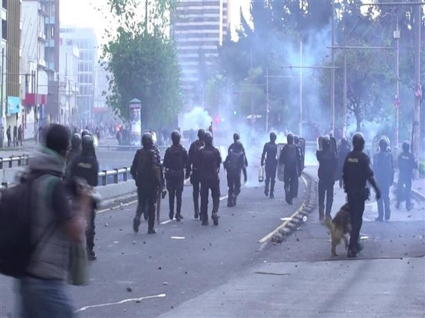 Διαδηλώσεις κατά της λιτότητας στο Εκουαδόρ