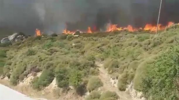 Φωτιά στην Νάξο