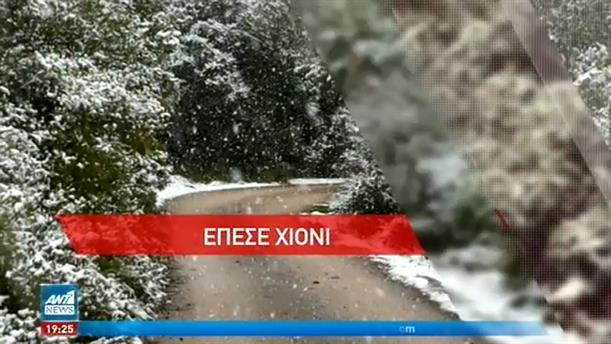 25η Μαρτίου με χιόνια από την Κομοτηνή μέχρι την Κρήτη