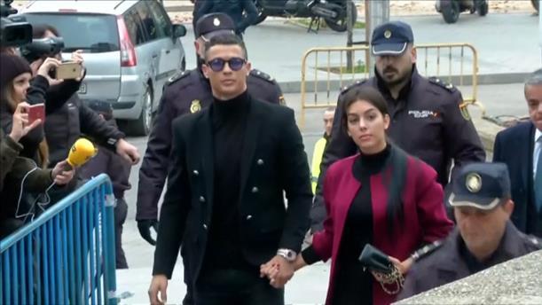 Ενώπιον δικαστηρίου εμφανίστηκε ο Κριστιάνο Ρονάλντο για την υπόθεση φοροδιαφυγής
