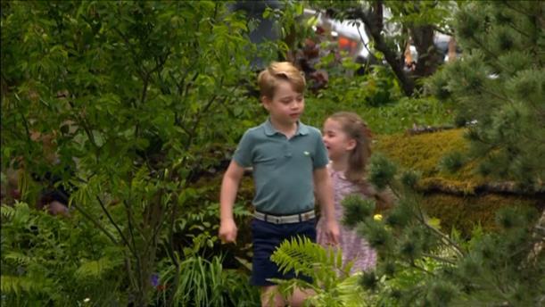 O κήπος που σχεδίασε η Κέιτ Μίντλετον