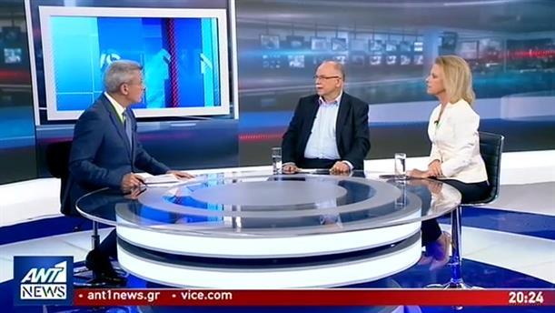 Παπαδημούλης - Βόζεμπεργκ στον ΑΝΤ1 για τις εκλογές στις 7 Ιουλίου