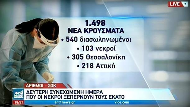 Κορονοϊός: Πάνω από 100 θάνατοι στην Ελλάδα