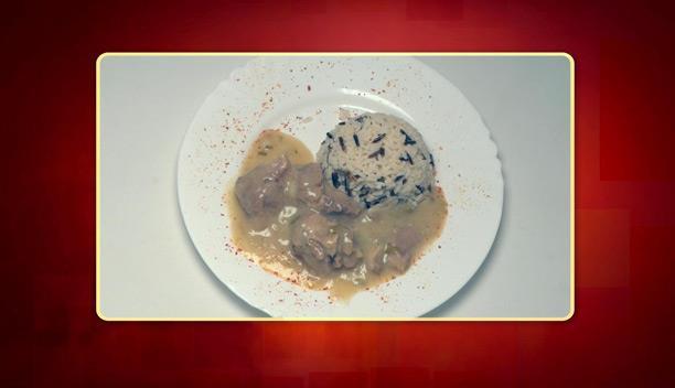 Χοιρινό με πράσο λεμονάτο και ρύζι της Κατερίρνας - Κυρίως πιάτο - Επεισόδιο 10