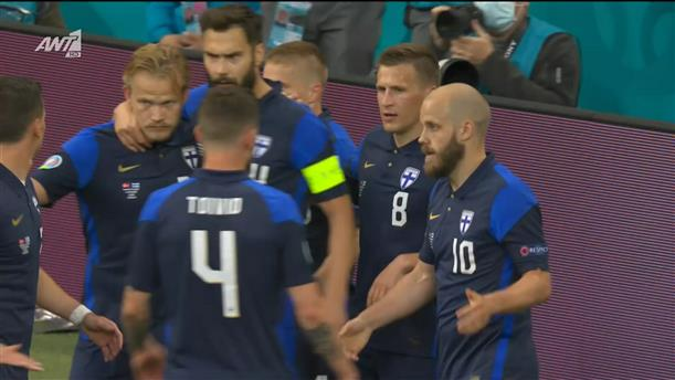 EURO 2020: Δανία - Φινλανδία - highlights