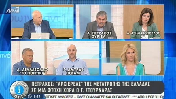 Πρωινό ΑΝΤ1 – Εκπομπή - 18/06/2015
