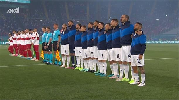 ΤΟΥΡΚΙΑ – ΙΤΑΛΙΑ – EURO 2020