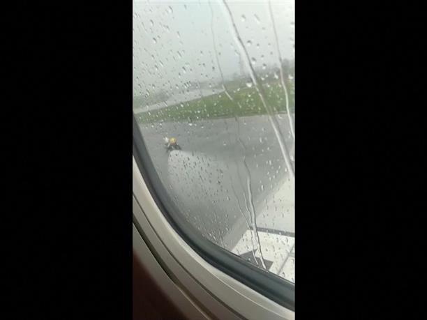 Προσγείωση αεροπλάνου εκτός διαδρόμου