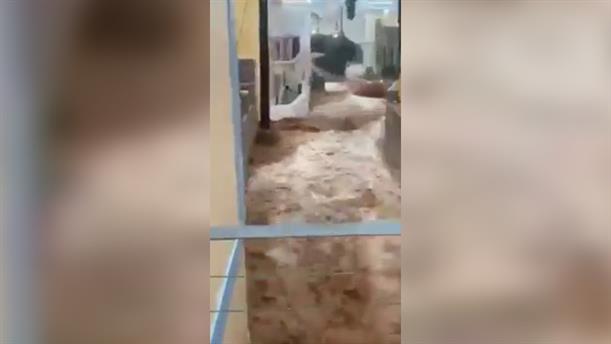 Πλημμύρες στη Σύμη