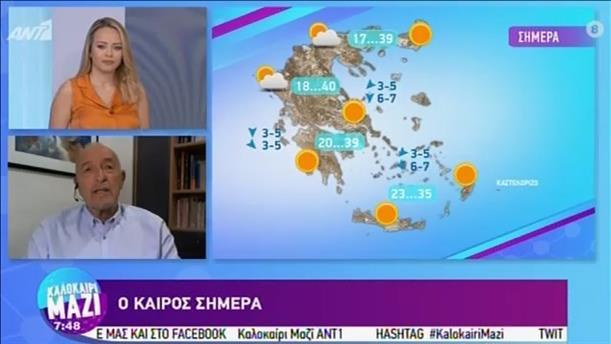 ΚΑΙΡΟΣ – ΚΑΛΟΚΑΙΡΙ ΜΑΖΙ - 30/07/2020