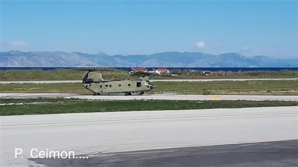Στη Ρόδο αμερικανικά ελικόπτερα