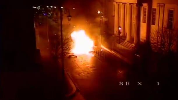 Η ώρα της έκρηξης παγιδευμένου αυτοκινήτου έξω από δικαστήριο στην Βόρεια Ιρλανδία