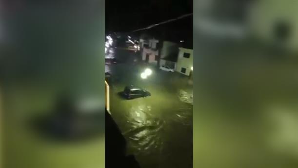 Σοβαρά προβλήματα από τις βροχοπτώσεις στη Ρόδο