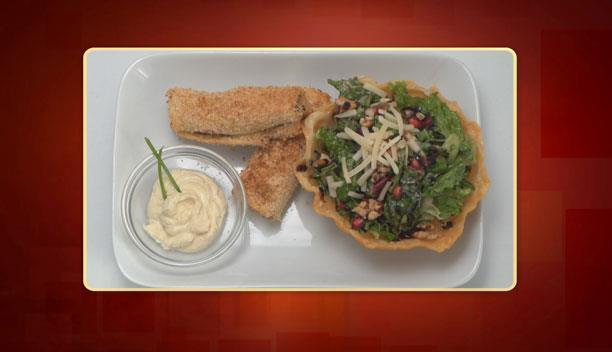 Ρολό κοτόπουλου με σαλάτα της Μαρίας - Ορεκτικό - Επεισόδιο 50