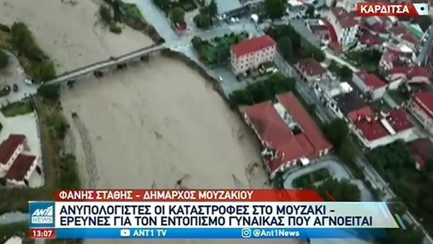 Ο Δήμαρχος Μουζακίου στον ΑΝΤ1 για την κακοκαιρία